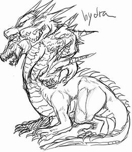 Hydra Monster Drawing | www.pixshark.com - Images ...