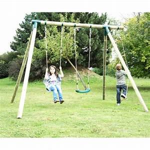 Portique De Jeux : portique de jeux pour enfant en bois trait autoclave cheyenne ~ Melissatoandfro.com Idées de Décoration