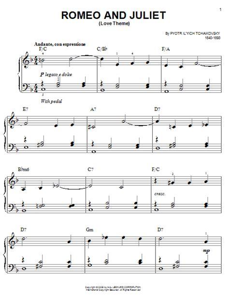 Chord dasar kunci gitar & lirik lagu ©chordtela.com. Pyotr Ilyich Tchaikovsky 'Romeo And Juliet (Love Theme ...