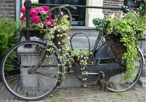 Deko Banner  70 X 100cm  Fahrrad  Für Den Garten