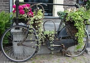 deko banner 70 x 100cm fahrrad fur den garten With französischer balkon mit outdoor poster garten