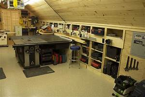 One Car Garage Woodworking Shop With Creative Pictures