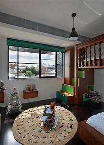 Escalier en colimacon le vrai accrocheur d39une maison for Tapis chambre enfant avec vrai futon