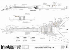 Gibson Les Paul  Junior Electric Guitar Plan Images