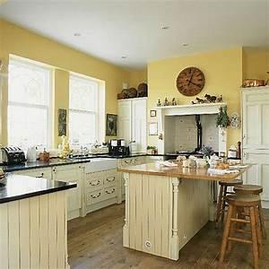 Warmwasserboiler Für Küche : frische farben f r die k che 58 wohnideen in gelb ~ Markanthonyermac.com Haus und Dekorationen