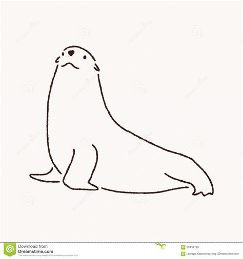 seal clipart black and white fur seal clipart clipground
