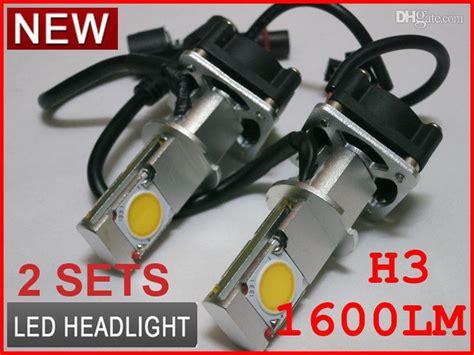 H4 50w Cree Led Headlight High/low Cxa1512 Cob 1800lm