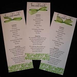 free download program wedding program ideas samples With wedding programs ideas samples