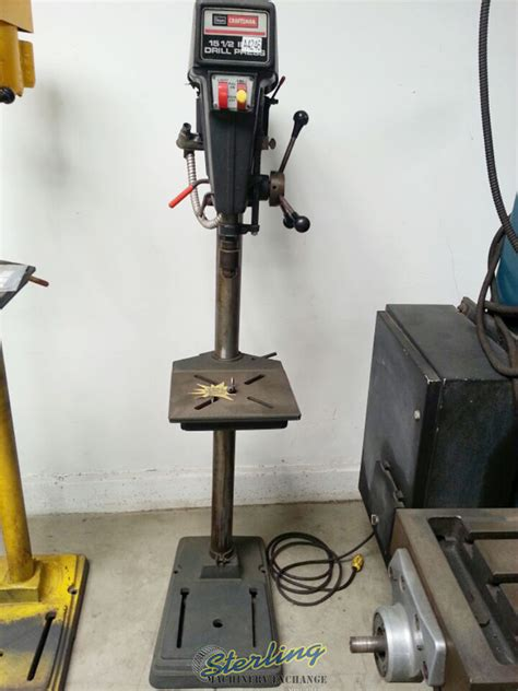 craftsman floor drill floor type heavy duty