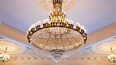 the middle east s most expensive chandelier destroyed by