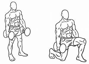 Bovenbenen trainen mannen