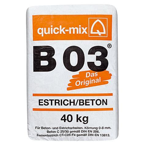 b1 beton estrich mix estrichbeton b 03 40 kg chromatarm bauhaus
