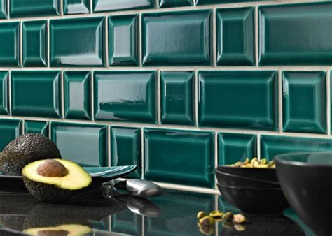 credence cuisine carrelage metro carrelage métro dans la cuisine une décoration tendance