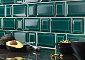 Carreau Metro Blanc : carrelage m tro dans la cuisine une d coration tendance et moderne ~ Preciouscoupons.com Idées de Décoration