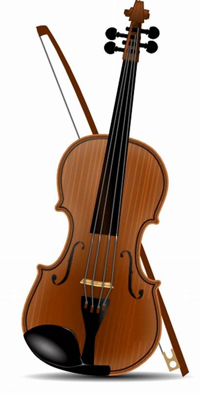 Violin Clker Clip Clipart Vector Domain Violon