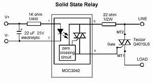 solid state relays three phase solid state relay with zvs With solid state relay design archives electronic circuit diagram