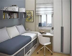 Amenager une petite chambre chambre pinterest in for Chambre ado petit espace