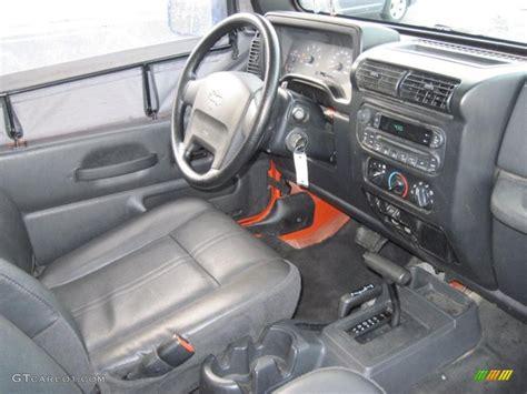 2005 jeep unlimited interior 2005 jeep wrangler se 4x4 interior photo 38887141