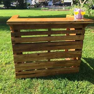 Pallet Bar - Step by Step Instructions
