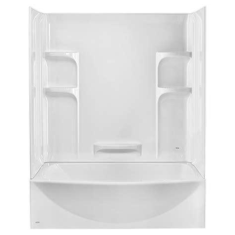 Bath Tub Set by Ovation Curved 3 Bathtub Wall Set American Standard