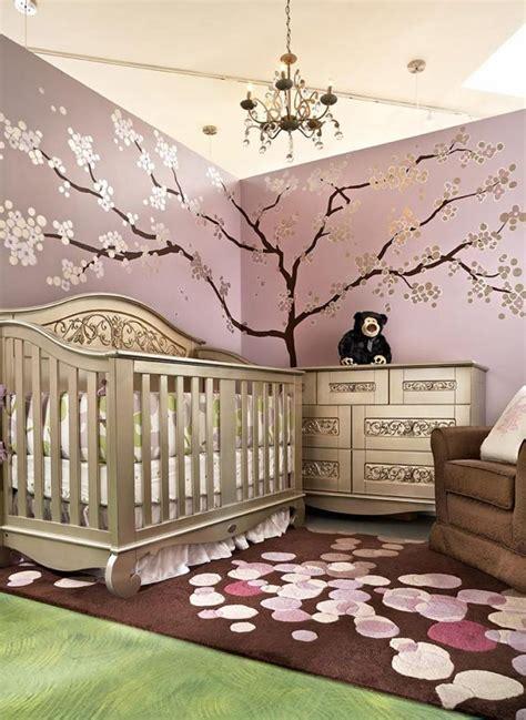 chambre marron et or deco chambre bebe et marron visuel 6