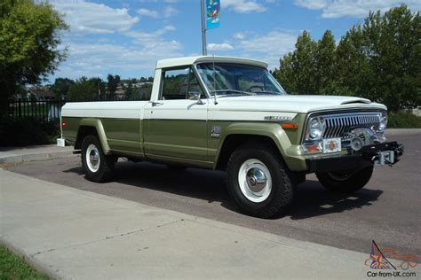 jeep gladiator 1971 1971 amc jeep gladiator j4000 pickup