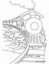 Coloring Polar Express Train Ausmalbilder Coloringhome Printable Colouring Sheets Coloriage Dibujos Chuggington Tren Colorear Ausmalbild Dibujo Trenino Popular Locomotive Zug sketch template
