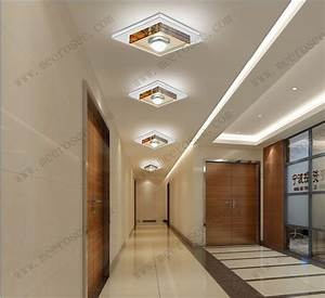 Hallway ceiling light fixtures watt led