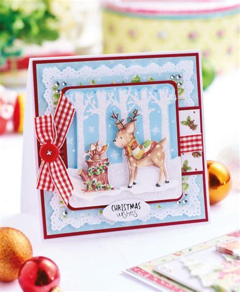 Decoupage Woodland Christmas Cards  Free Card Making