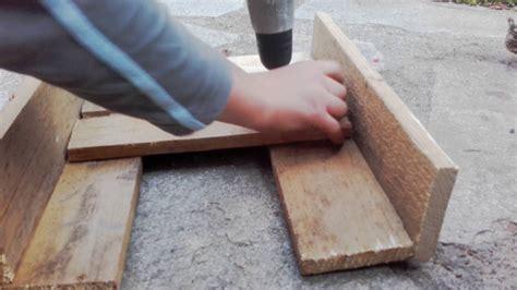 comment faire un pot de fleur en bois