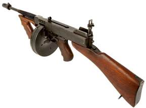 Thompson Submachine Gun WW2