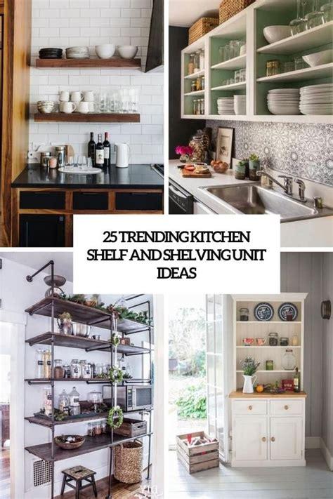 17+ Charming Kitchen Ideas Shelves