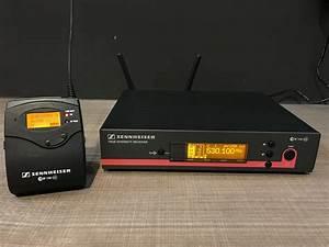 Sennheiser Em 100 G3 Receiver And Sk 100 G3 Bodypack