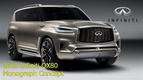Infiniti Qx80 New Style 2018 by 2018 Infiniti Qx80 Monograph Suvs Concept Design Exterior