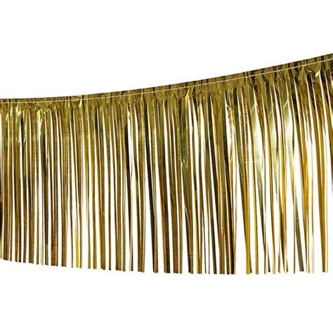 deko gold silber lametta girlande deko fransengirlande foliengirlande glitzergirlande dekogi 9 49