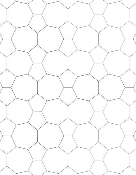 tessellation small graph paper