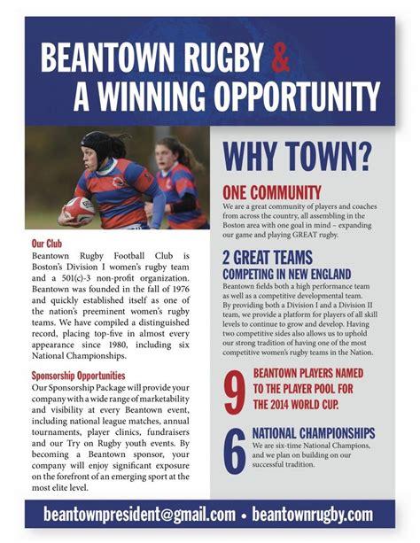 sponsorship opportunities sponsorship  pager