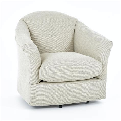 our justine swivel chair in a beautiful floral fabric