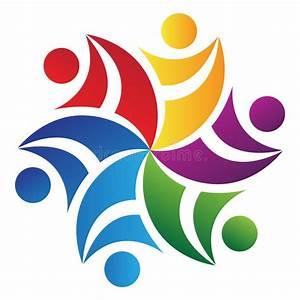 Teamwork Logo Royalty Free Stock Photos - Image: 22455608