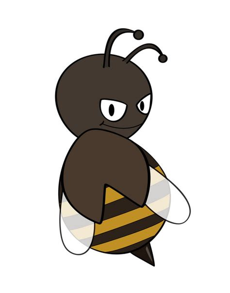 draw  cartoon killer bee  steps  pictures