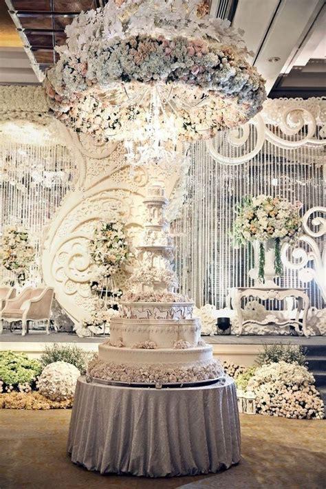 62 Extravagant White Indoor Wedding Ceremony #