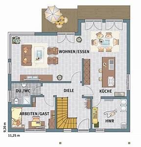 Haus Raumaufteilung Beispiele : ber ideen zu grundrisse auf pinterest haus ~ Lizthompson.info Haus und Dekorationen