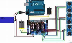 Rolling Red Robot With Arduino  U00ab Adafruit Industries