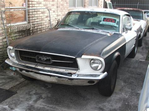 Ford Mustang Fastback For Sale by 1967 Ford Mustang Fastback For Sale Project Car