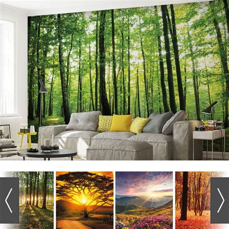 Wall Murals by Details About Forests Nature Flowers Photo Wallpaper Mural