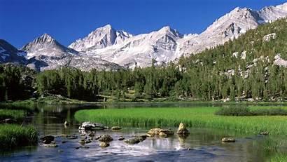 Lake Scenes Mountain Computer Desktop Nature Wallpapers