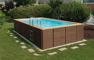 Swimmingpool Zum Aufstellen : aufstellpool dolce vita im freien gartenpools ~ Watch28wear.com Haus und Dekorationen