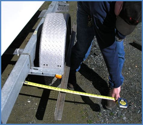 Boat Trailer Single Axle Alignment by Trailer Axle Alignment And Tire Wear Problems