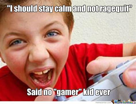 Angry Gamer Kid Meme - quot gamer quot kid by kallezstar meme center