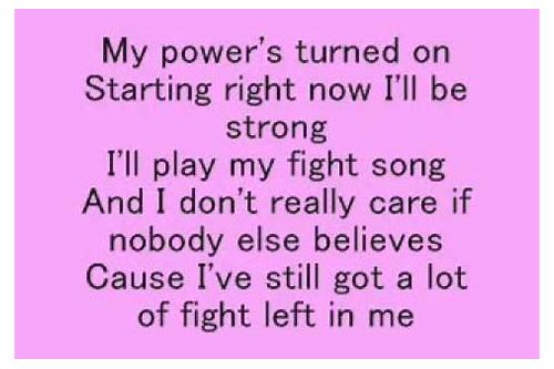 fight song free download mp3